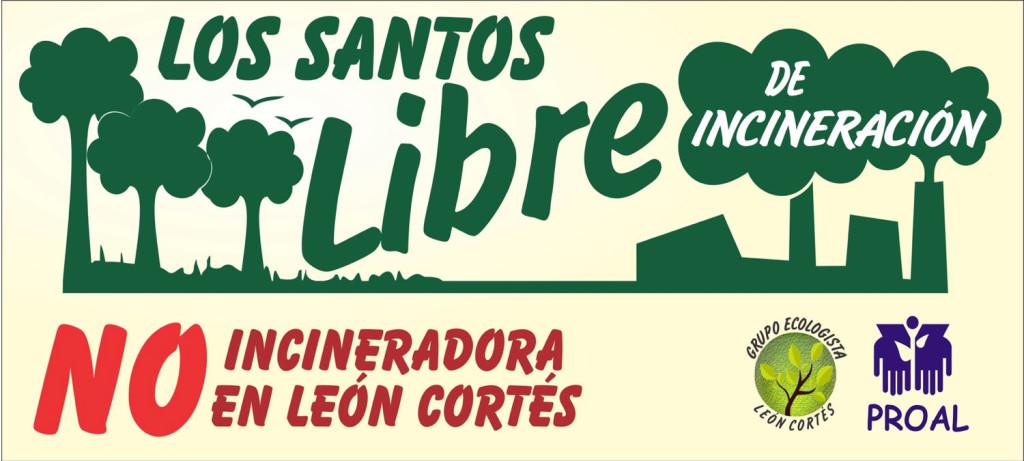 Los Santos reafirma rechazo a gasificacion de basura