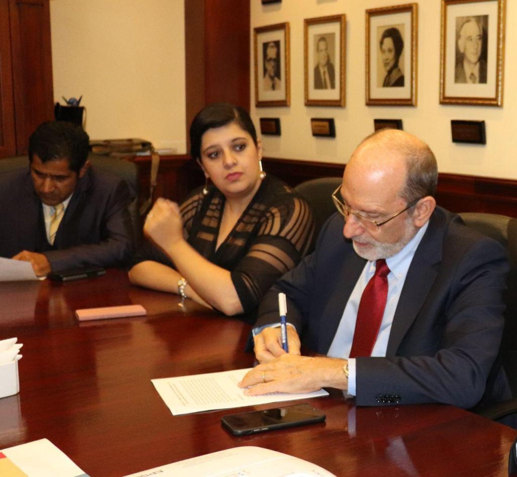 UCR Gobierno y CONARE firman acuerdo para el FEES 2019b