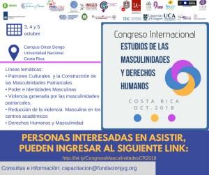 Congreso Internacional Estudios de las Masculinidades y Derechos Humanos