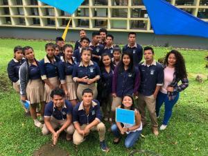 Jovenes indigenas visitaron la Feria Vocacional UCR 2018