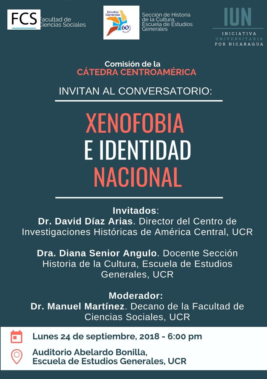 Conversatorio Xenofobia e identidad nacional