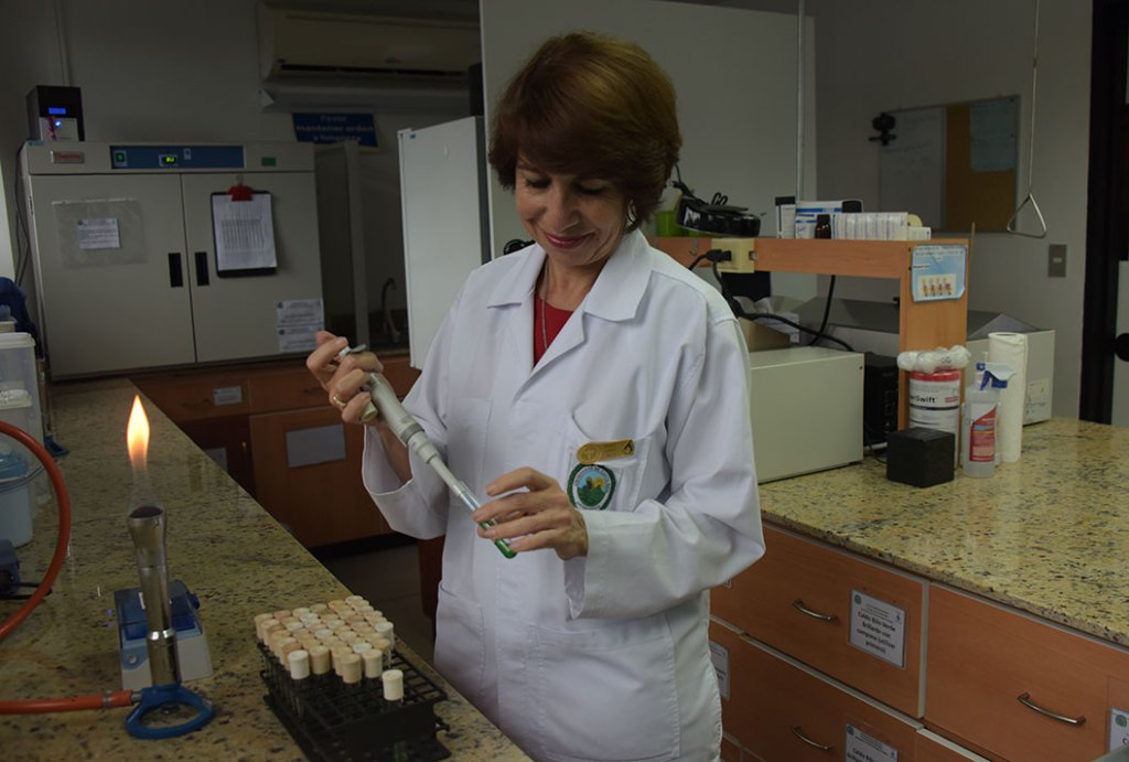 UCR Entre alimentos y agua investigadora de la UCR es reconocida como cientifica destacada 2018b