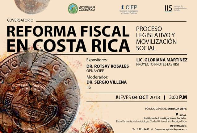 Conversatorio Reforma fiscal en Costa Rica