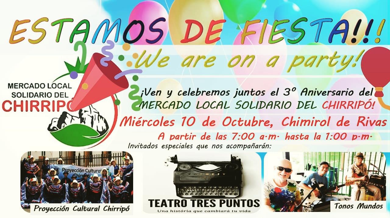 Mercado local solidario del Chirripo