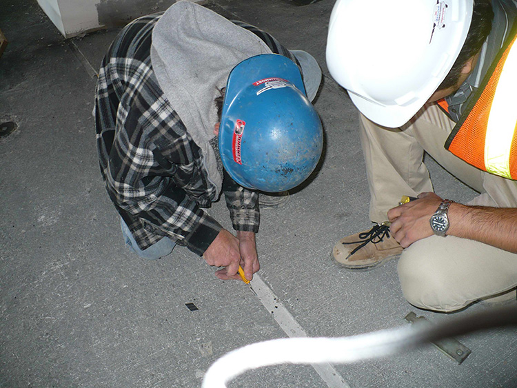Calgary Airport Parkade |Sure-Seal Project