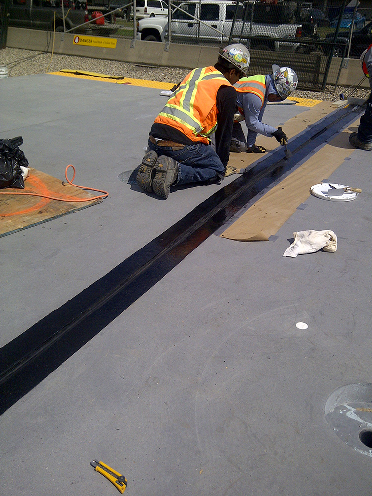 floor Sealant  Expansion Joints Sure-Seal  Calgary