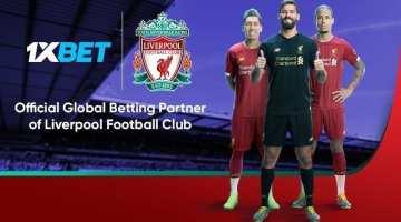 1xbet partner Liverpool