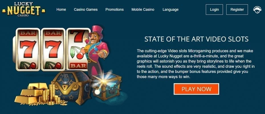 Lucky Nugget Casino Video Slots