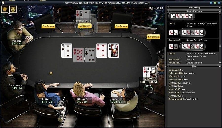 bwin Poker games