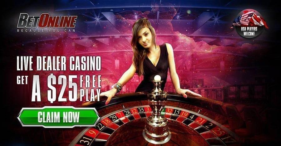 BetOnline Live Dealer Casino USA