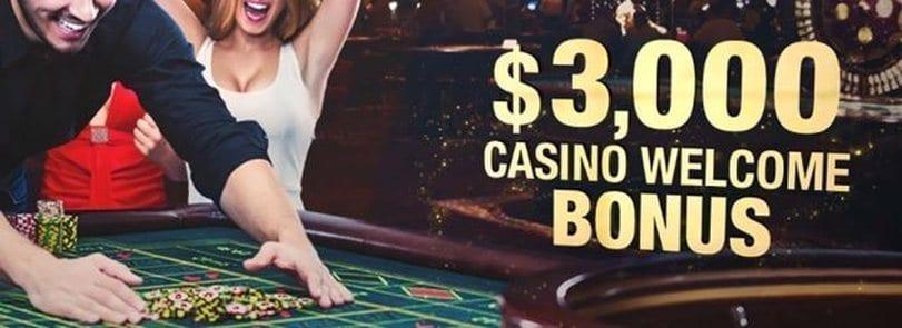 Online Casino Welcome Bonus USA
