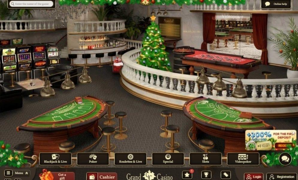 Casino Grand Lobby
