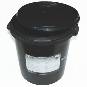 High capacity resin bucket