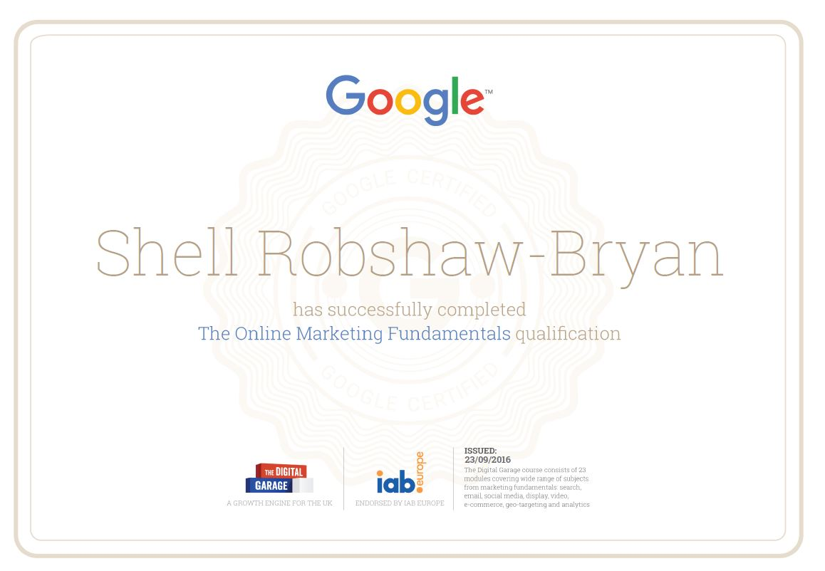 Surefire Marketing Lead Achieves Second Google Certification