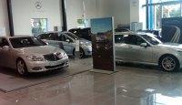 Bmw showroom floor tiles