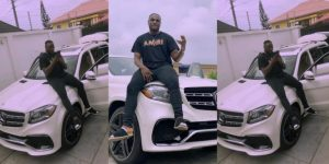 """""""New Whip"""" – Peruzzi Gifted Himself A New Benz (Photo)"""