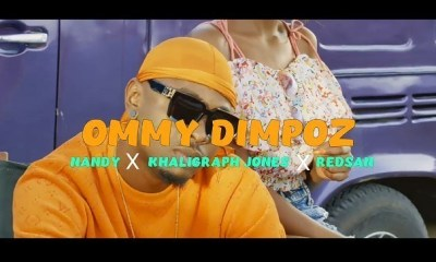 Audio & Video: Ommy Dimpoz  – Kata (Remix) Ft. Nandy, Khaligraph Jones & Redsan
