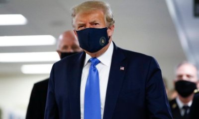Covid-19: Donald Trump Wears Face Mask For The First Time