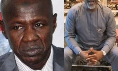 How Dino Melaye Sing To Mock Suspended EFCC Boss, Ibrahim Magu