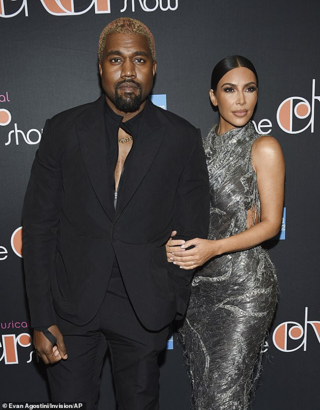Kanye West Milds Apology To Wife, Kim Kardashian After Twitter Spout