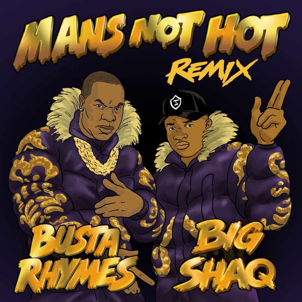Big Shaq Ft. Busta Rhymes – Man's Not Hot (Remix)