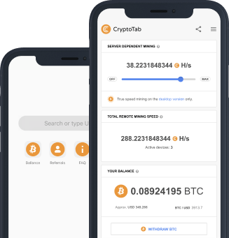 Earn Free Bitcoins on your iOS With The New CryptoTab Browser