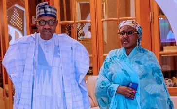 Aisha Buhari Attests Husband's Death? – (Photo)