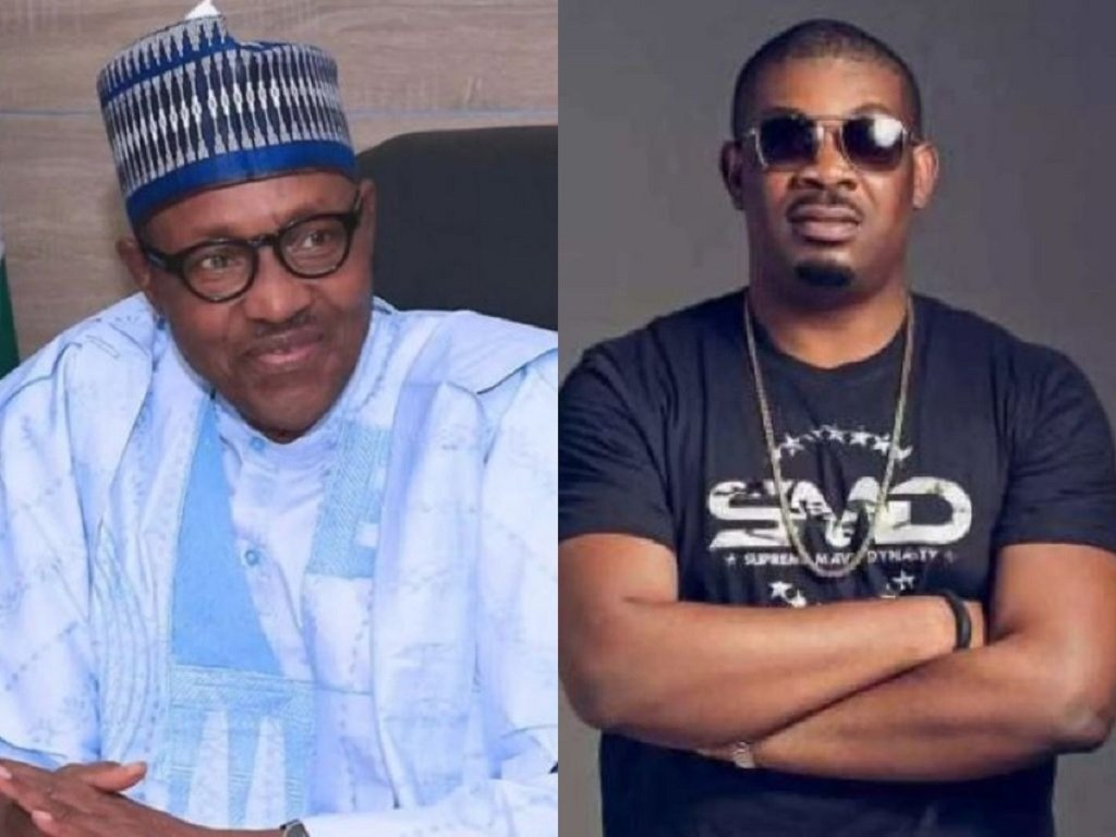 Don Jazzy Muted After Waiting 30 Minutes For Buhari's Nation Address