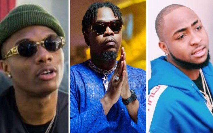 Olamide Reacts As Fans Plead Him To Get Wizkid & Davido To Collaborate