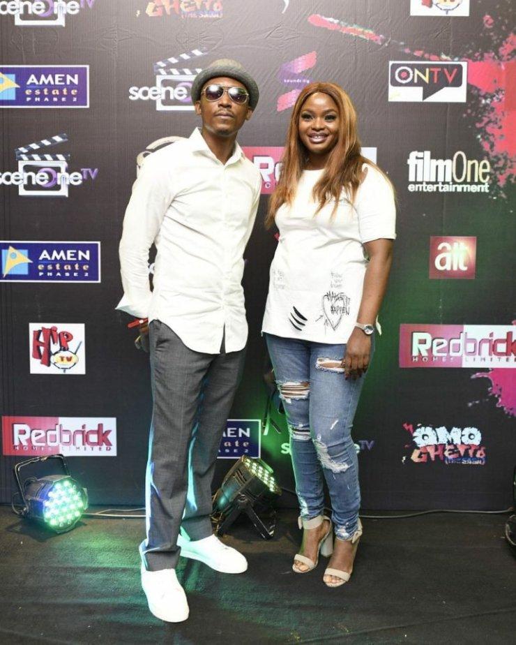 """Photos from some of your Faves to the """"Omo Ghetto (The Saga)"""" Premiere Worth Seeing"""