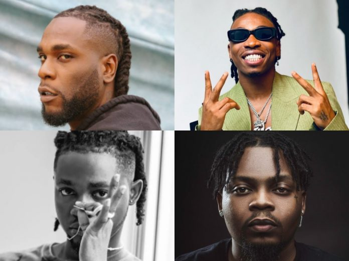 See the Top 10 Hottest Nigerian Musicians Of 2020