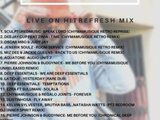 Chymamusique – Live On Hitrefresh
