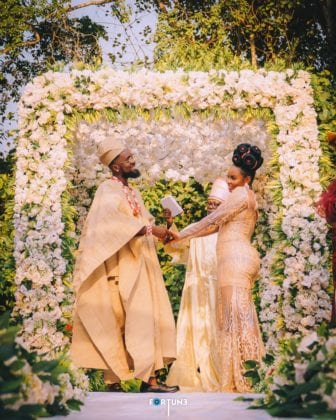 Patoranking and Yemi Alade Shares Loved Up Pictures of Themselves