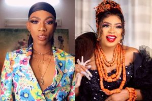 """Stop being threatened by me"""" – James Brown shades Bobrisky"""