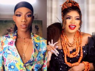 "Stop being threatened by me"" – James Brown shades Bobrisky"