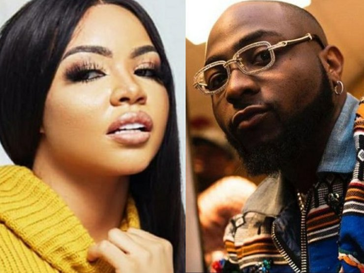 Reality Star Nengi And Crooner Davido Unfollow Each Other On The Social Media