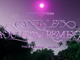 """Can't Let You Go Remix Lyrics"" – Stefflon Don ft. Tiwa Savage, Rema"