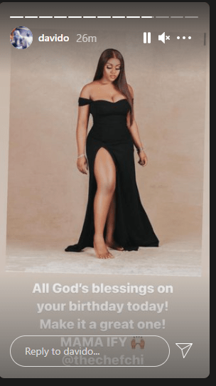 Davido Finally Celebrates His 3rd Baby Mama, Chioma On Her Birthday
