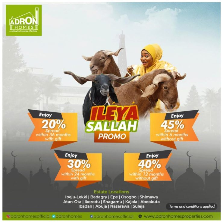 You Stand A Chance to Get 3 Rams in the Adron Ileya-Salah Promo