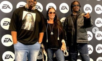 Don Jazzy And His Artiste, Rema Visit EA Sport Center In US