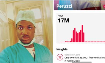 Davido Mocks Peruzzi After He Claimed To Have Studied Medicine