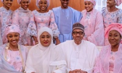 President Buhari and wife, Aisha celebrate 30th wedding anniversary