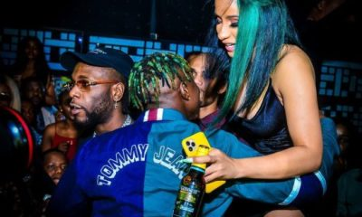 Zlatan Ibile excited as he hugs Cardi B (Photos)