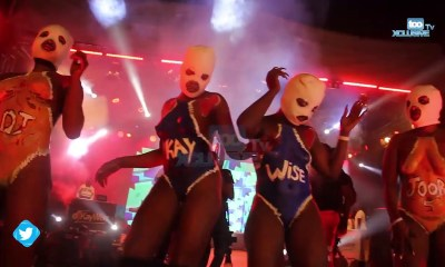 See How Sexy Girls Uproar The Stage With New Twerking Styles At Joor Concert || Watch Video