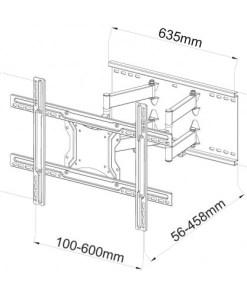 """40""""-80"""" Dual Arm Cantilever TV Bracket (SCL06) 6"""