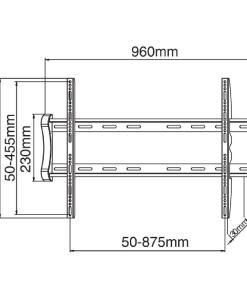 "46""-85""+ Flat To Wall TV Bracket (SF04) 3"