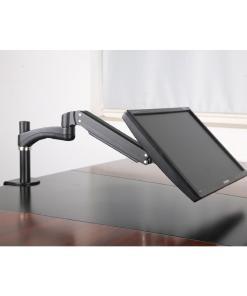 Single Monitor Desk Mount Tilt Angle Image