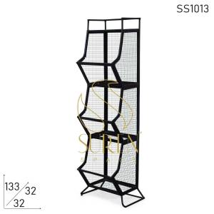 SS1013 Suren Space Metal Mesh Work Display Cum Storage Unit