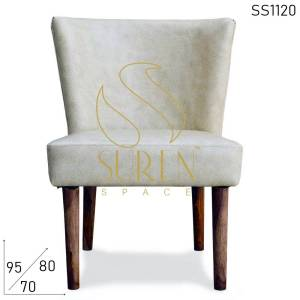 SS1120 Suren Space Leatherite Restaurant Fine Dine Accent Chair