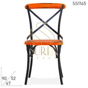 SS1145 Suren Space Duel Shade Distress Event Banquet Bistro Chair